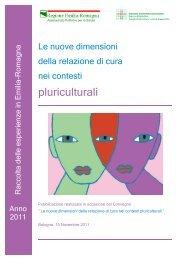 Raccolta delle esperienze in Emilia-Romagna - anno 2011 - Saluter