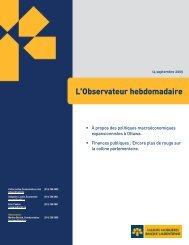 L'Observateur hebdomadaire - VMBL