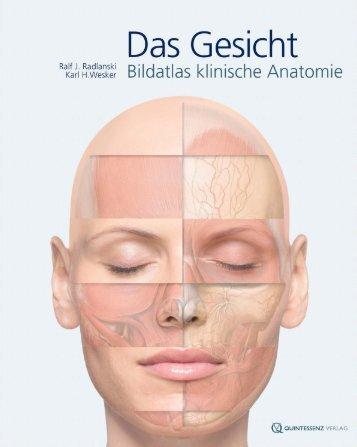 """""""Das Gesicht – Bildatlas klinische Anatomie"""" Bildatlas (Leseprobe)"""