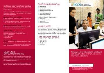 Employment of International Graduates in Ireland - Irish Council for ...