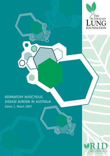 respiratory infectious disease burden in australia - The Thoracic ...
