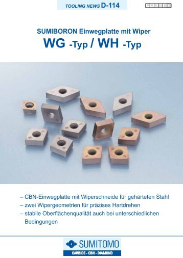 WG -Typ / WH -Typ - MAS Tools & Engineering