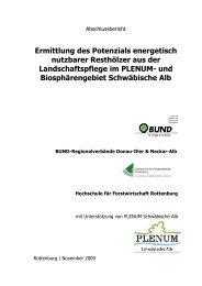 gibt es die Studie zum download - BUND Neckar-Alb