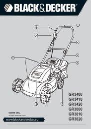 GR3400 GR3410 GR3420 GR3800 GR3810 GR3820