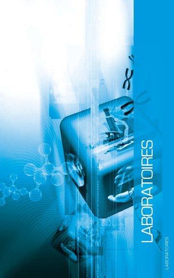 Annuaire Genopole - Les laboratoires - 2011