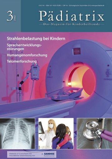 Strahlenbelastung bei Kindern - Pädiatrix
