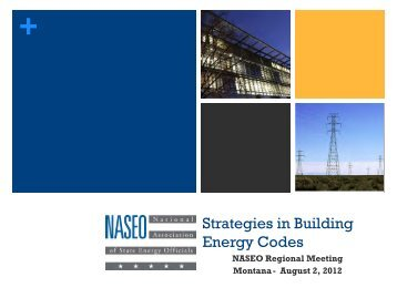 Brian Henderson - National Association of State Energy Officials