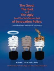 The Good, The Bad, The Ugly of Innovation Policy: