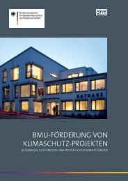 BMU-FörderUng von KliMaschUtz-projeKten