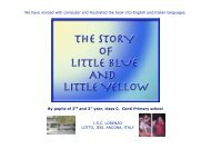 The story of Little Blue and Little Yellow