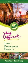 Shop Downtown Howell