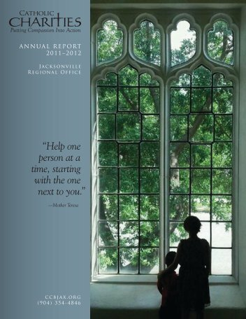 2011-2012 Annual Report - Catholic Charities