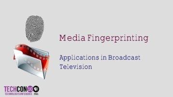 Media Fingerprinting - PBS