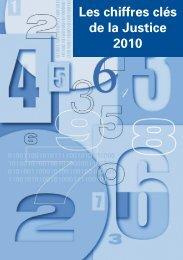 Chiffres clés 2010 12102010.vp - Ministère de la Justice