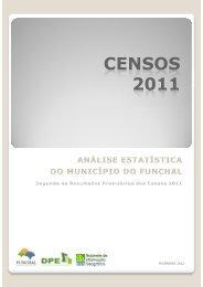 CENSOS 2011 - Câmara Municipal do Funchal
