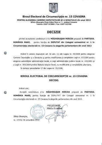 candidati-prm - Prefectura Judeţului Covasna