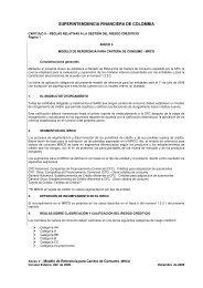 SUPERINTENDENCIA FINANCIERA DE COLOMBIA - Felaban