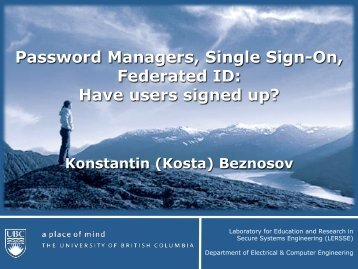Have users signed up? - LERSSE