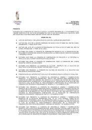 Orden del día Sesión Ordinaria (21/05) 03 de ... - Transparencia