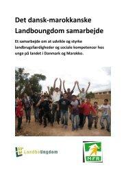 Det dansk-marokkanske Landboungdom samarbejde - Danmarks ...
