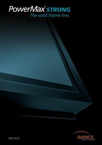 PowerMax®-STRONG - Activity Solar