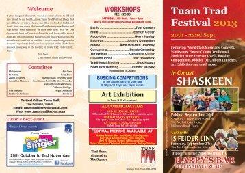 HERE - Tuam Trad Festival