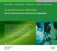 La peinture des véhicules - CSST