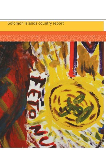 Solomon Islands country report - AusAID