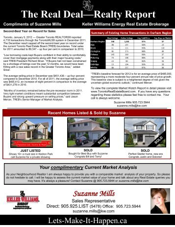 January 2012 - Keller Williams Realty