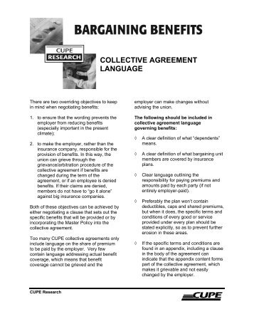 Singapore Airlines Union Collective Agreement 200