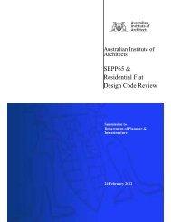 SEPP 65 & Residential Flat Design Code Review - Australian ...