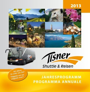 Download Programma annuale - Tisner Shuttle