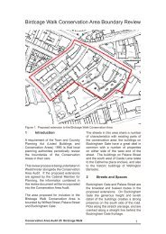 Birdcage Walk Conservation Area Boundary Review - Westminster ...