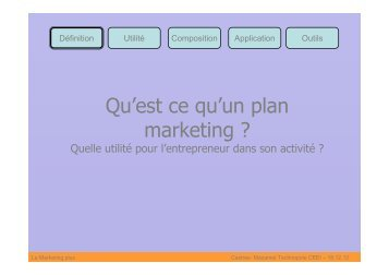 presentation - 18decembre - Castres Mazamet Technopole