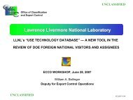 Sensitive Unclassified Technical Information (SUTI): Current Views ...
