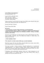 Põhjaveekomisjoni koosoleku protokoll nr 102