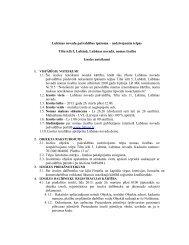 Izsoles noteikumi - Lubānas novads
