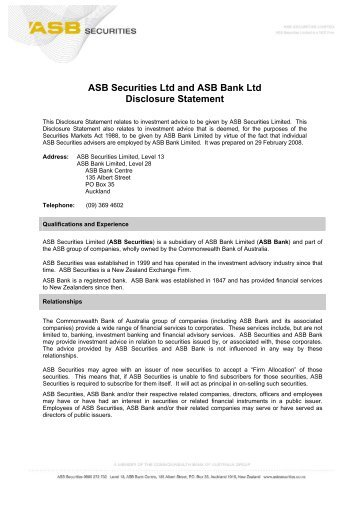 20 free Magazines from ASBSECURITIES CO NZ