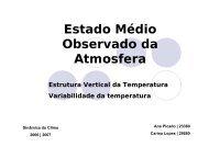 Temperatura - Torre:Tempo e Clima