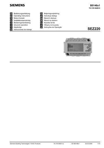 SEZ220 - Siemens