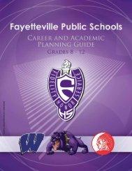 2012-13 FPS Grades 8-12 CAP Guide - Fayetteville Public Schools