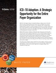 ICD-10 Adoption: A Strategic Opportunity for the ... - World Congress