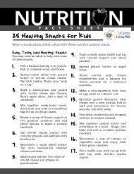 25 Healthy Snacks for Kids - Wellness