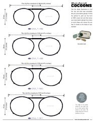 This clip fits a maximum of 120 mm - Cocoons Eyewear