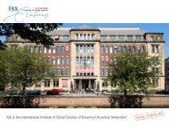 ISS is the international Institute of Social Studies of Erasmus ... - AIAS