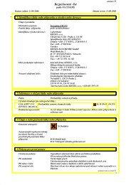 Bezpečnostní list - Kiesel Bauchemie GmbH & Co.KG