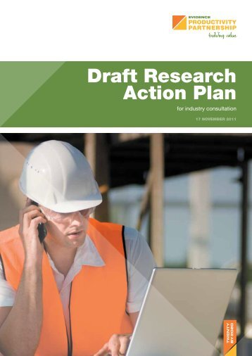 Draft Research Action Plan - Building Value