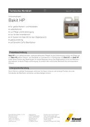 Bakit HP_de.pdf - Kiesel Bauchemie GmbH & Co.KG