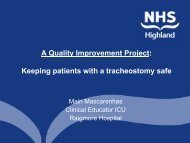 Keeping Patients with a Tracheostomy Safe - sicsag