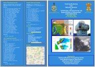 Training Workshop cum National Seminar on - India Meteorological ...